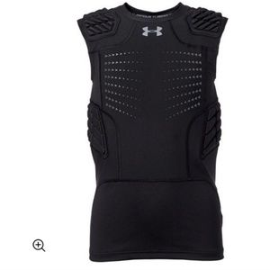 Under Armour Youth Padded Football Compression Top